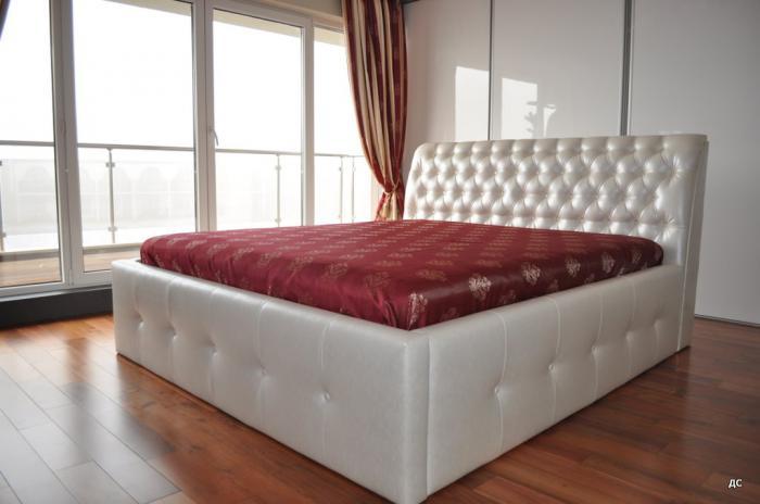 Спалня с еко кожа