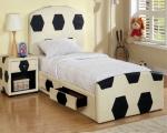 спалня с футболни мотиви по поръчка 1649-2735