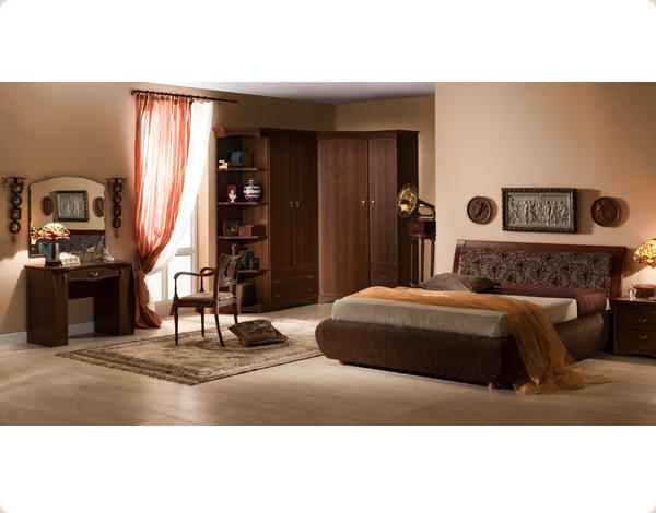 Тапицирана спалня по поръчка 8-2618