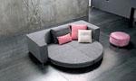 Индивидуален проект на кръгла спалня