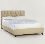 златно легло Chesterfield лукс