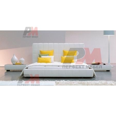 Съвременен дизайн на евтини тапицирани легла