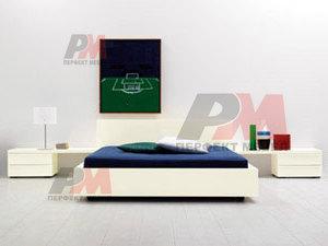 Дизайнерски евтини тапицирани легла